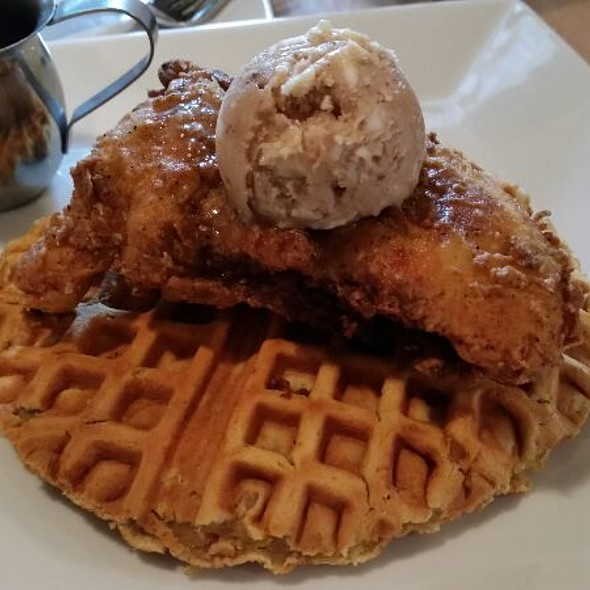 Fried Chicken And Waffle - Lowcountry Bistro, Charleston, SC