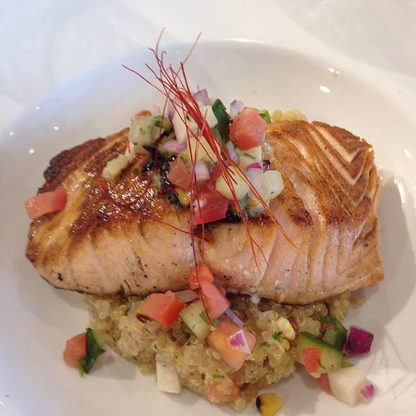 Roasted Salmon Over Quinoa Wit Pico De Gallo @ Culinary Institute of Michigan
