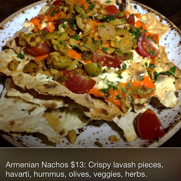 Armenian Nachos @ The Gorbals