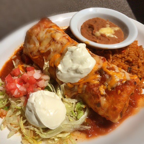 Chicken Chimichanga @ Lone Star Texas Grill