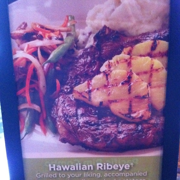 Hawaiian Ribeye @ Gordon Biersch Brewery Rstrnt