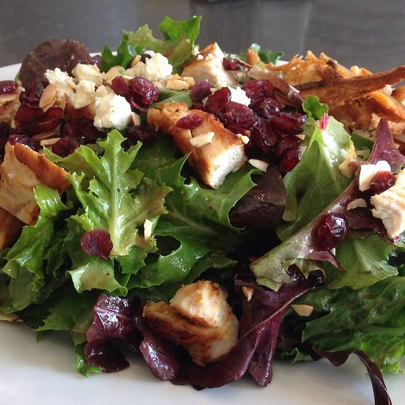 Field Greens Salad with Chicken  @ Feel Good Kitchen