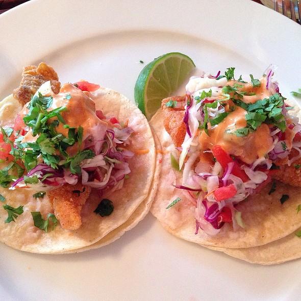 Taco De Pescado @ La Viga Restaurant