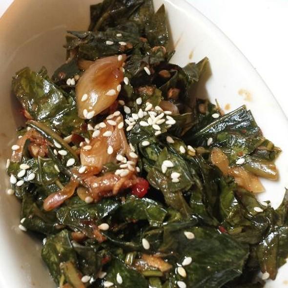 Collard Green Kimchi