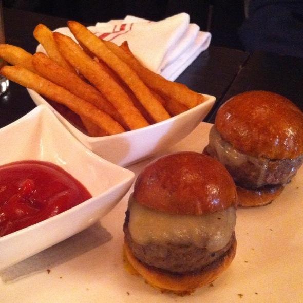 Kobe Beef Sliders - Sojourn Restaurant, New York, NY