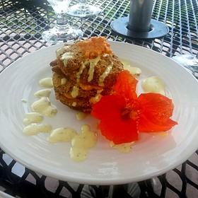 Fried Green Tomatoes - Chateau Morrisette, Floyd, VA