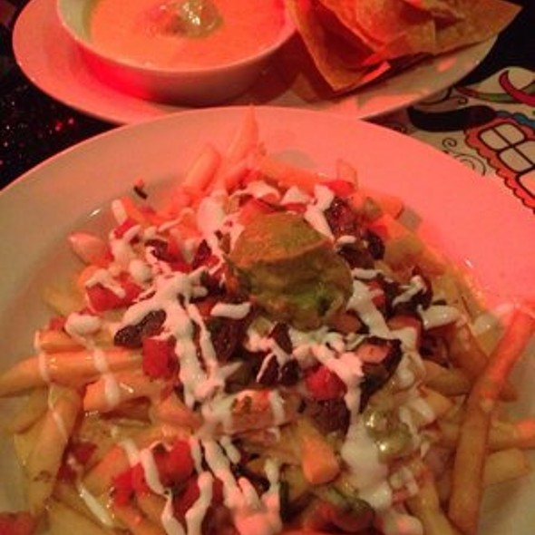 Carne Asada Fries and Queso Fundido