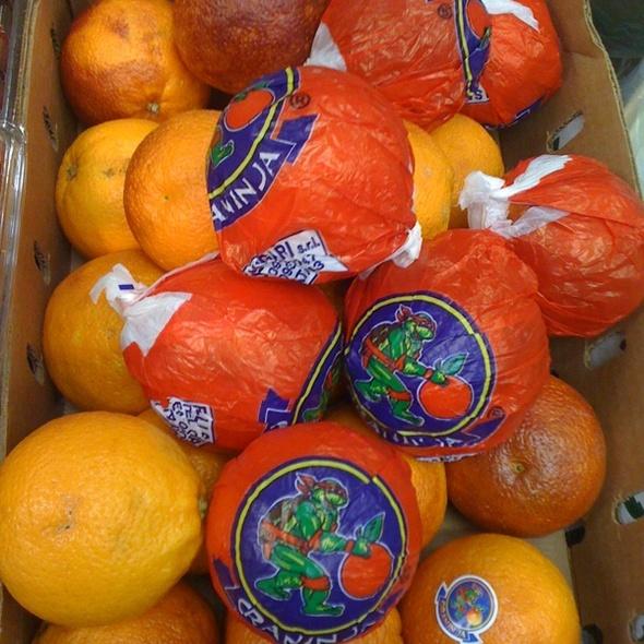 Ninja Turtle Blood Oranges @ To The World Farm