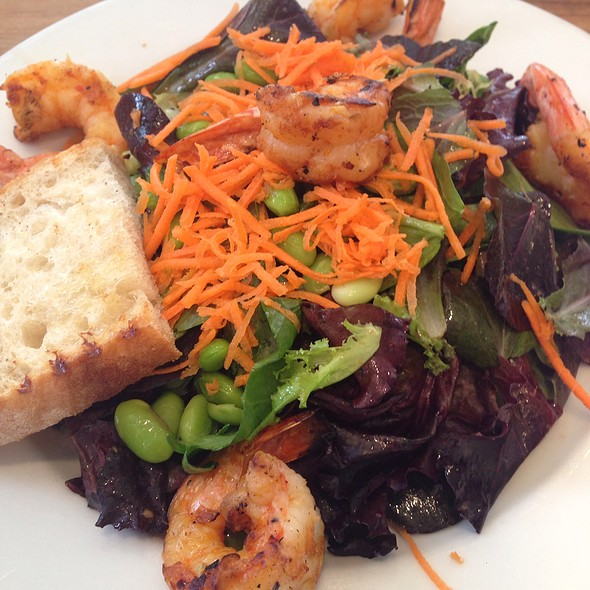 Spicy Shrimp Salad @ Milk & Honey Cafe