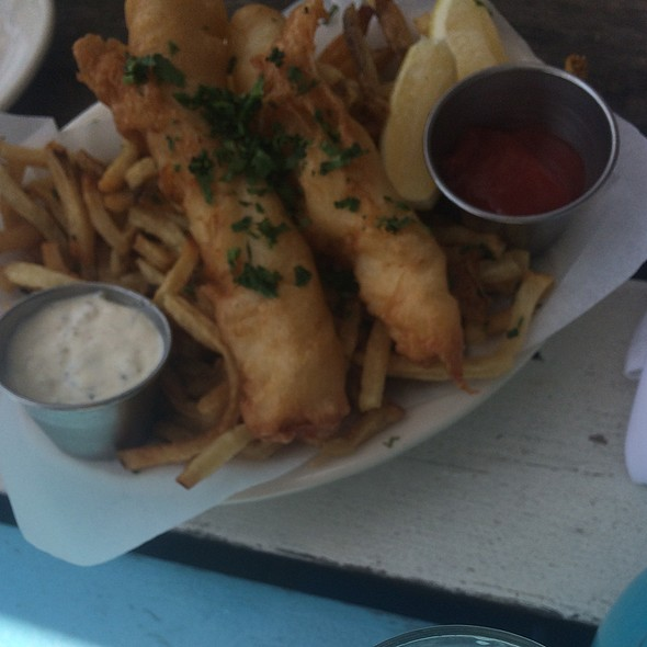 Fish and Chips @ Perla's Seafood & Oyster Bar