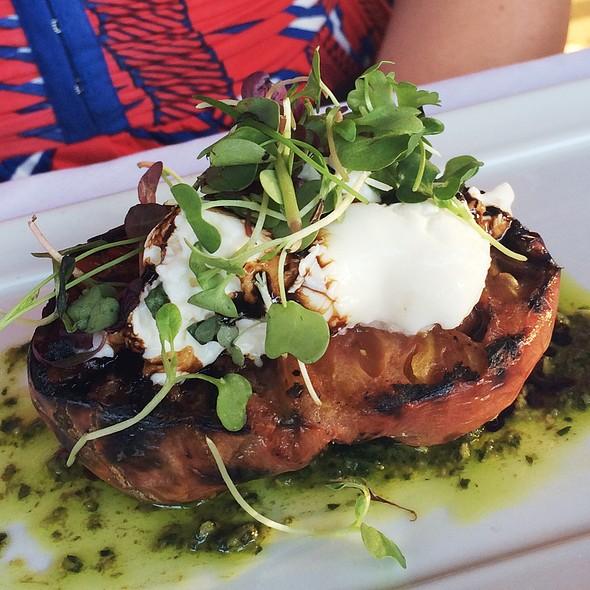 Grilled Heirloom Tomato Salad @ Caffe Allegro