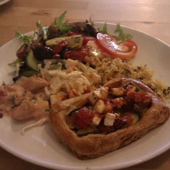 Feta, Courgette & Semi-dried Tomato Tart @ Gusto And Relish