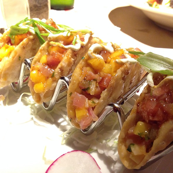 Sashimi Tacos - Guy's American Kitchen and Bar, New York, NY