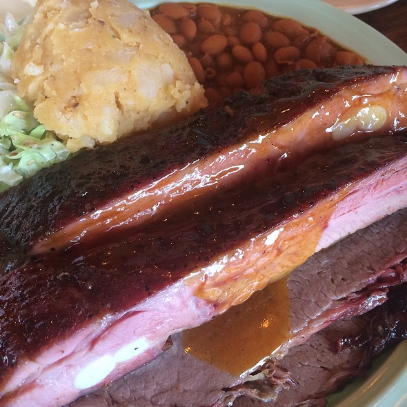 2 Meat Combo Bbq Plate