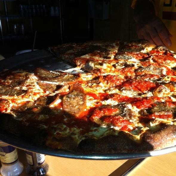 Meatball Pizza - Max's Grille - Boca Raton, Boca Raton, FL