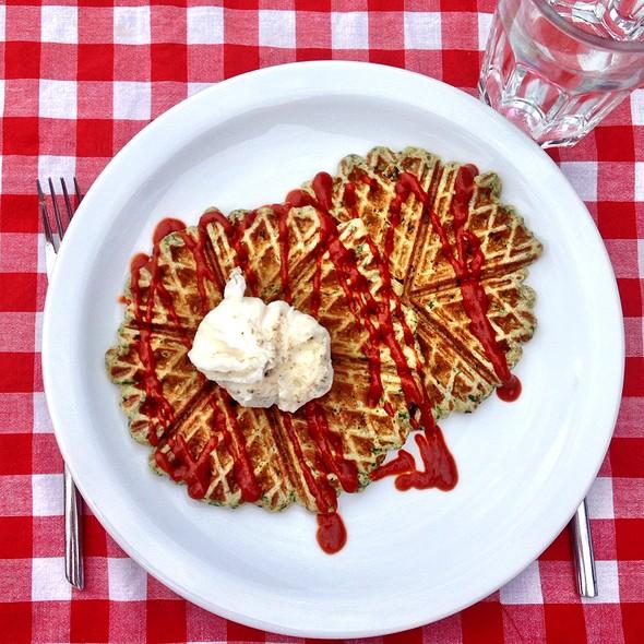 Savory Waffle @ Home