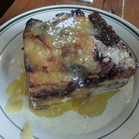 Dark Chocolate And Pecan Bread Pudding