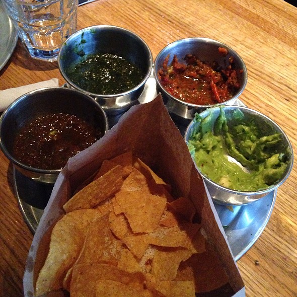 Chips And Flight Of Salsa