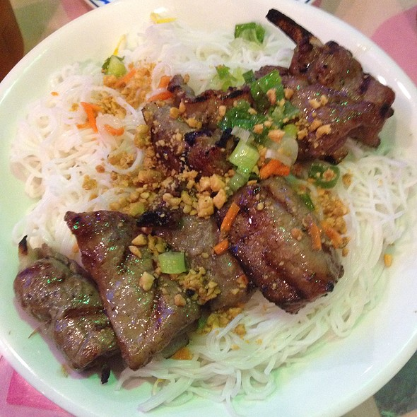 Grilled Beef Over Rice Vermicelli @ New Tu DO Restaurant Corp