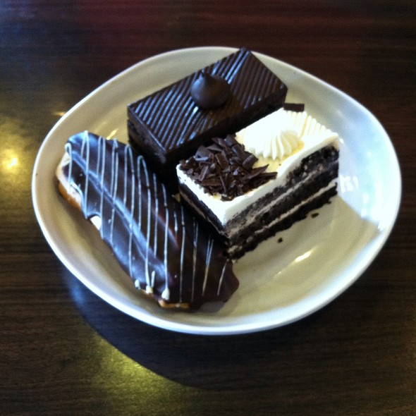 Black Forest, Chocolate Truffle, Chocolate Eclair @ IndAroma Restaurant, Bakery & Catering