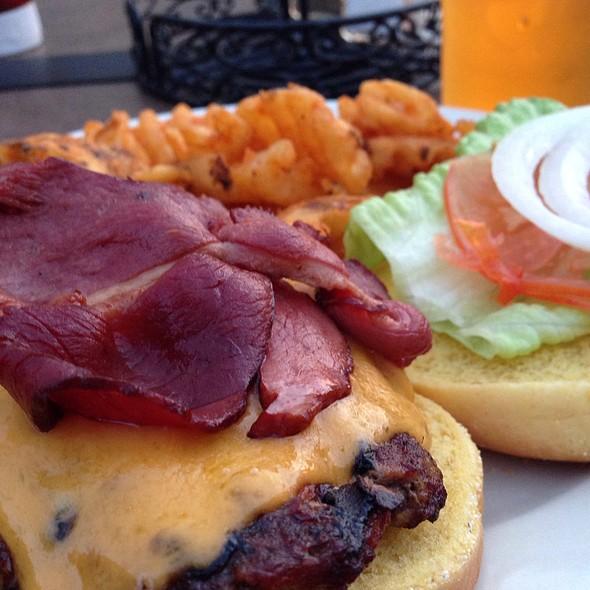 Grass Fed Burger With Duck Bacon @ Cedar Beach Bar And Grille
