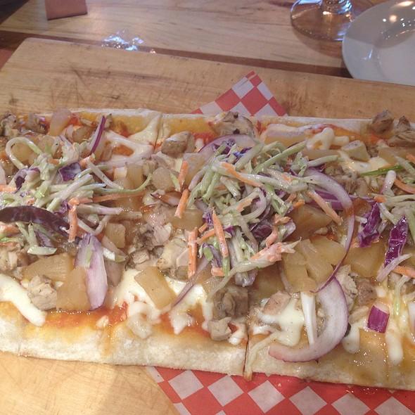 Jerk Chicken Flatbread Pizza - Against The Grain Urban Tavern - Leaside, Toronto, ON