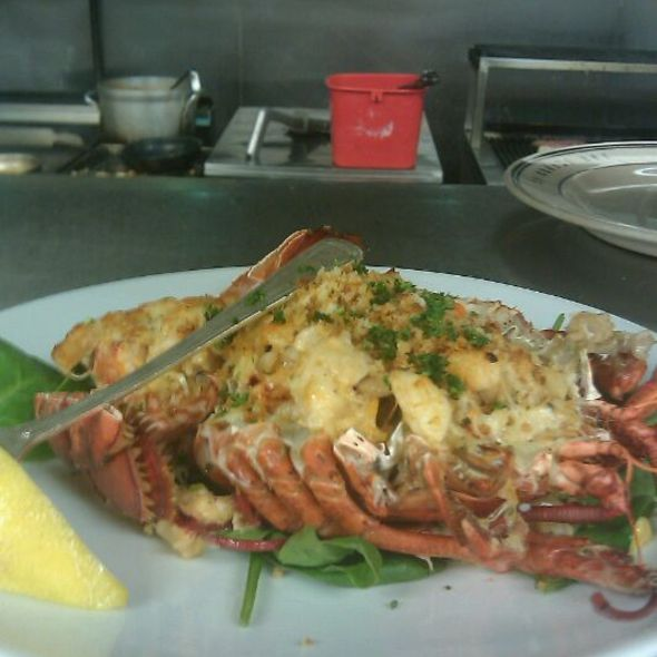 Broiled Lobster Thermidor. @ The Oceanaire Seafood Room