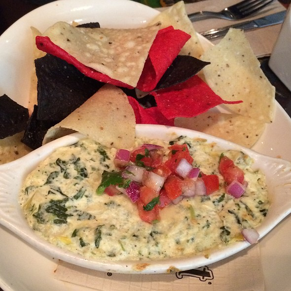 Spinach Dip With Chips @ Rainforest Cafe