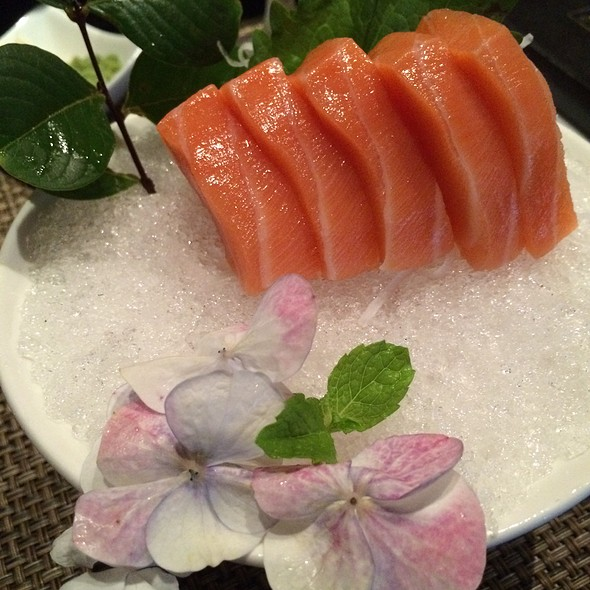 Sashimi - Salmon @ Samurai Japanese Steak & Sushi