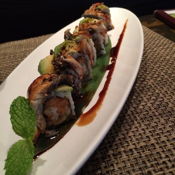 Eel & Tempura Shrimp Roll - Ninja Sushi Roll @ Samurai Japanese Steak & Sushi