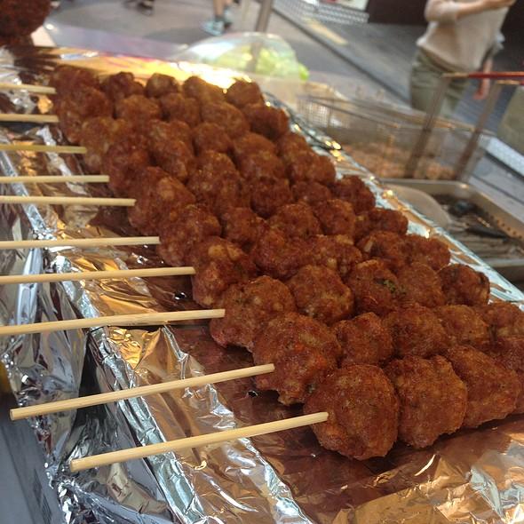 Meatballs @ Myeong-dong Street