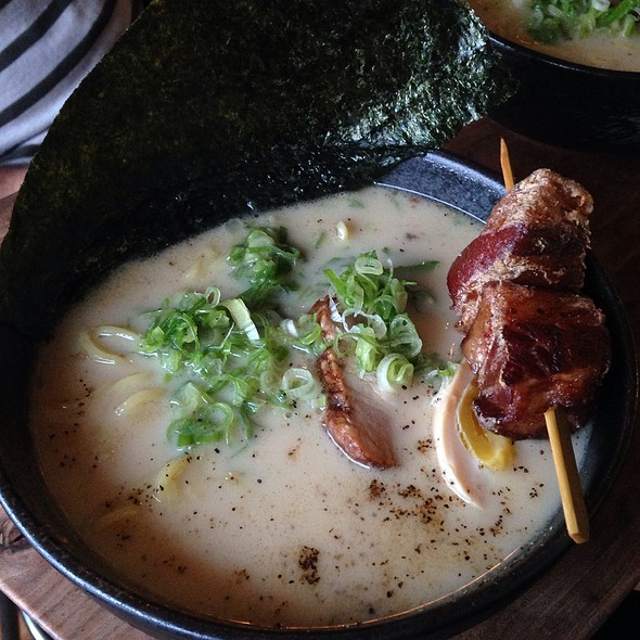 Ritsu Tonkotsu Ramen With Fried Pork Belly