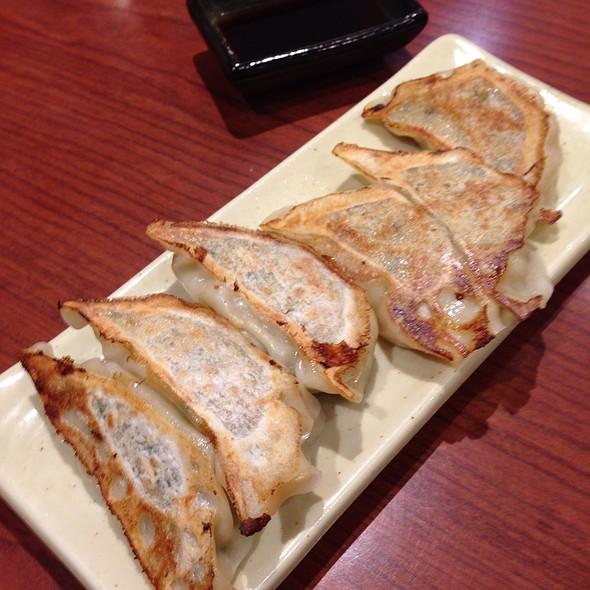 Grilled Gyoza