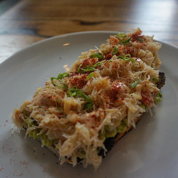 Crab On Toast @ Lusca