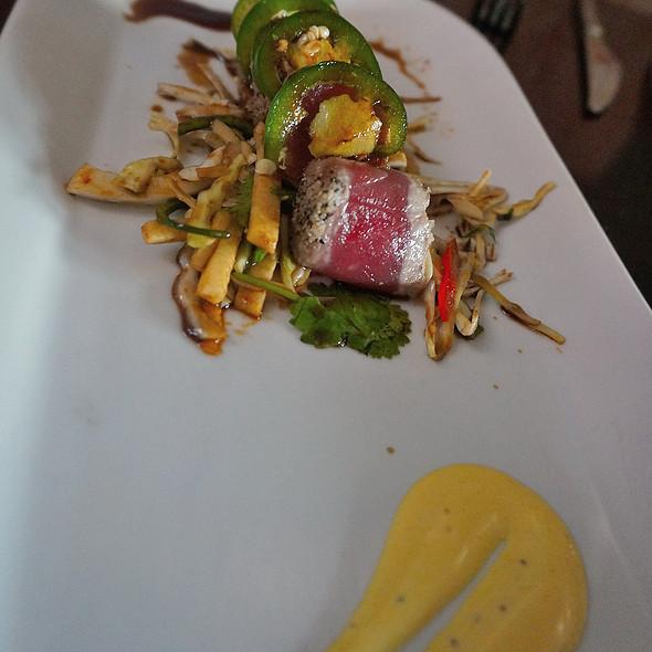 Tuna Crudo @ Red Pepper Taqueria