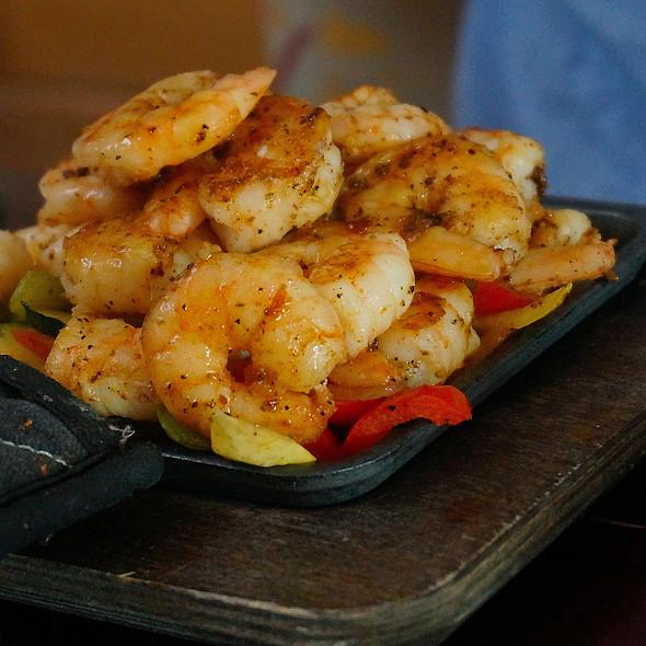 Shrimp Fajitas @ Red Pepper Taqueria