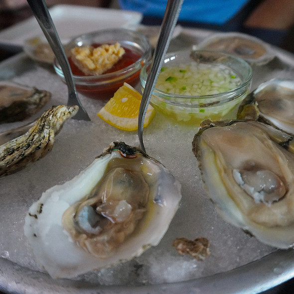 Oysters @ Red Pepper Taqueria