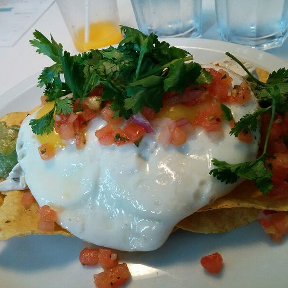 Huevos rancheros @ The Good Fork