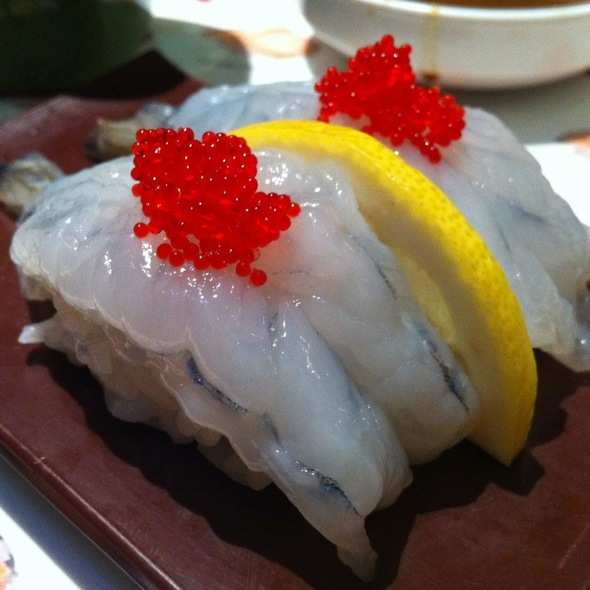 Blue Shrimp @ Samurai Sushi Boat