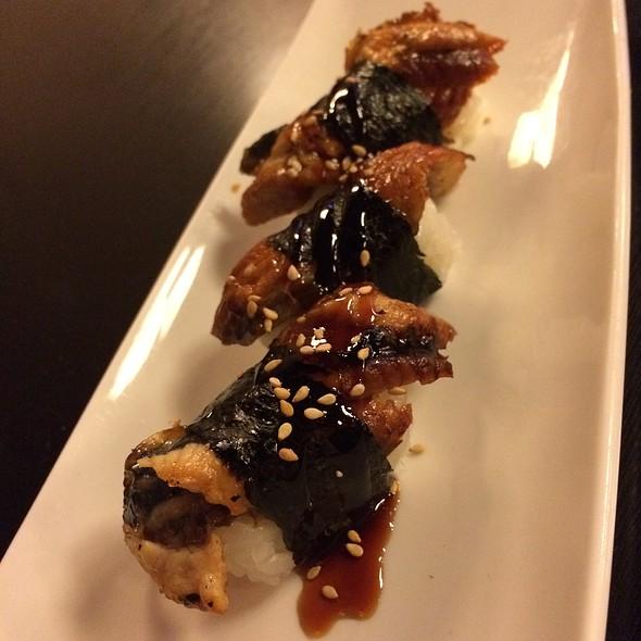 Eel Nigiri @ Sushi Wabi