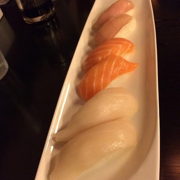 Nigiri - Salmon, Yellowtail & Escolar @ Sushi Wabi