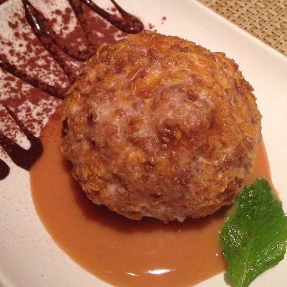 Cinnamon Fried Ice Cream @ Epazote Kitchen & Cocktails