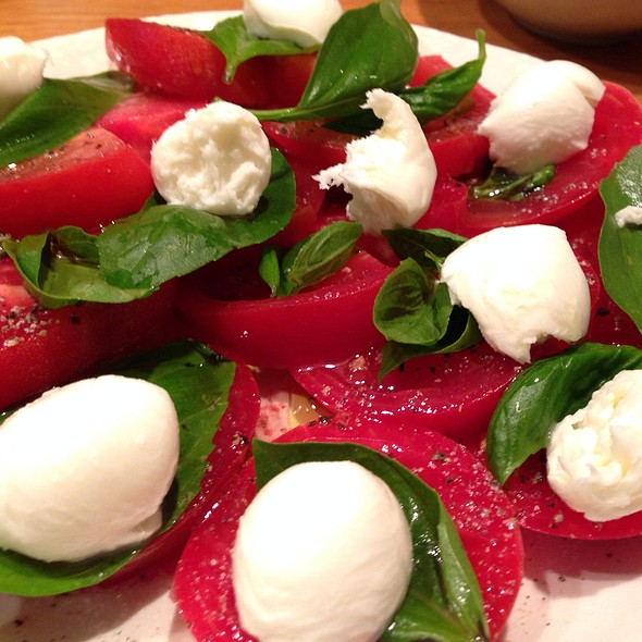 Caprese With Fresh Mozzarella And Basil @ My Home
