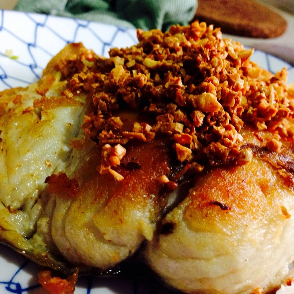 Pan Fried Mackerel @ Restaurant Teochiew