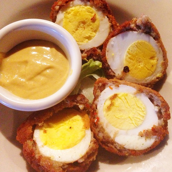 Scotch Eggs @ The Canyon's Crown Restaurant and Pub