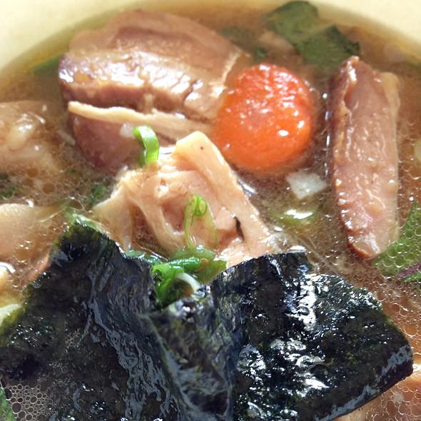 Slow Cooked Pork Ramen Bowl @ Hapa Ramen