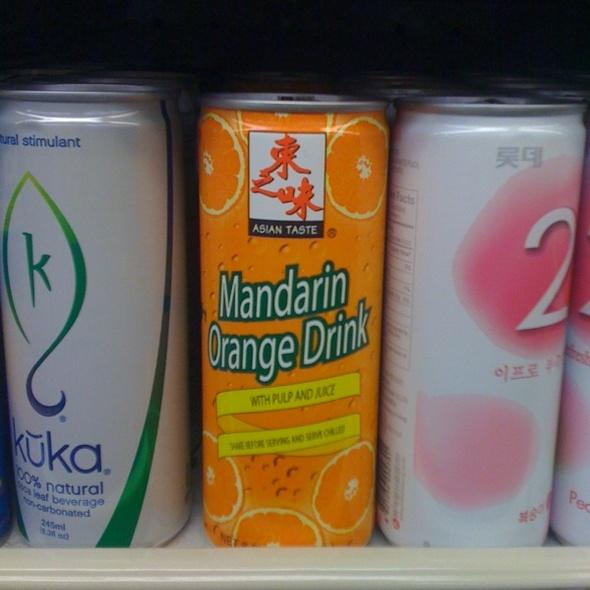 Mandarin Orange Drink @ M2M