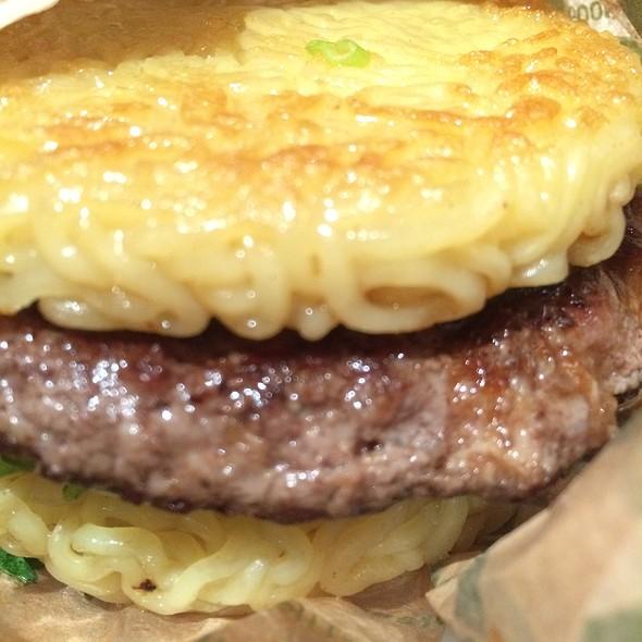 Original Beef Ramen Burger @ Ramen.Co By Keizo Shimamoto