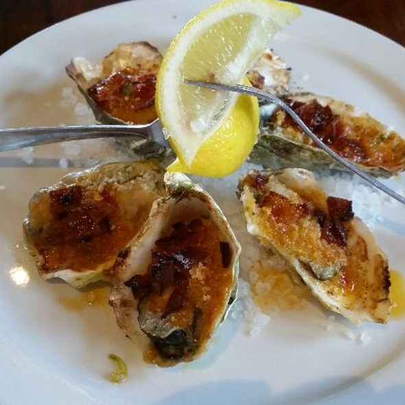 Oysters Casino With Ignites Famous Man Candy - Ignite Bistro, Carlsbad, CA