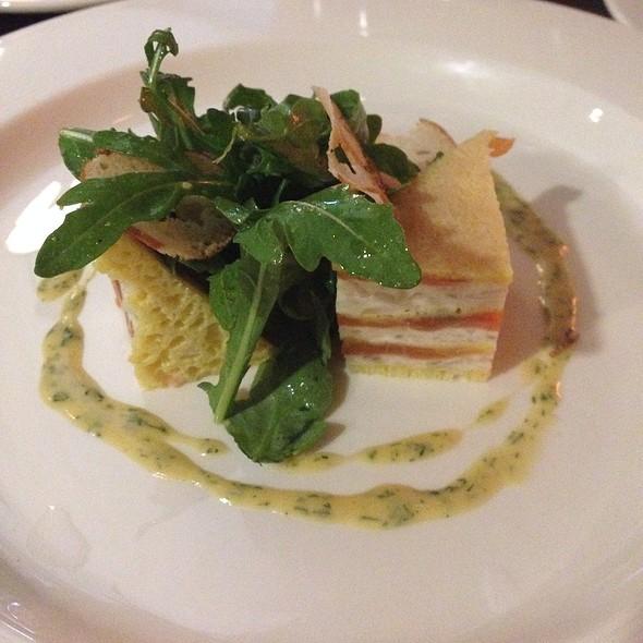 Salmon Torta @ Brasserie Zentral